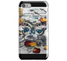 Message from the Heart iPhone Case/Skin