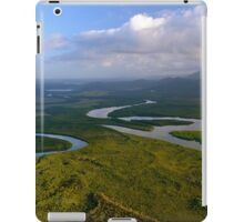Flying from Cairns to Cape Tribulation iPad Case/Skin