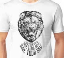 Save Your Self - Lion Unisex T-Shirt
