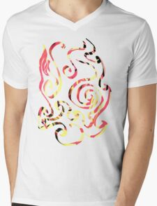 Glyph 32 Mens V-Neck T-Shirt