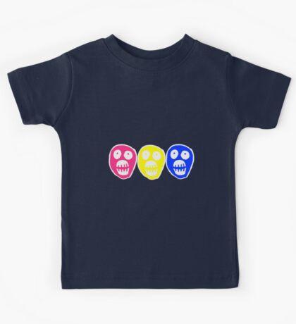 Pan colours Boosh heads Kids Tee