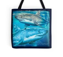 Neptune White Tote Bag