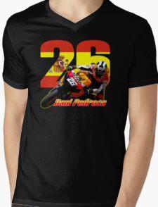 Dani Pedrosa Mens V-Neck T-Shirt