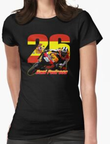 Dani Pedrosa Womens Fitted T-Shirt