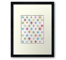 Periodic Table Element Shells Framed Print