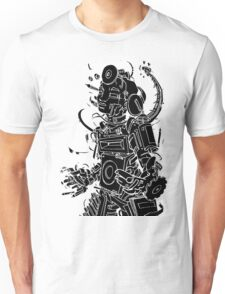 Robot Jukebox Tshirt Unisex T-Shirt