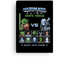 Ultimate Alien Death Match Canvas Print