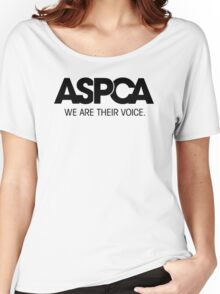 ASPCA We Are Their Voice Women's Relaxed Fit T-Shirt