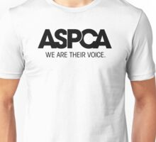 ASPCA We Are Their Voice Unisex T-Shirt