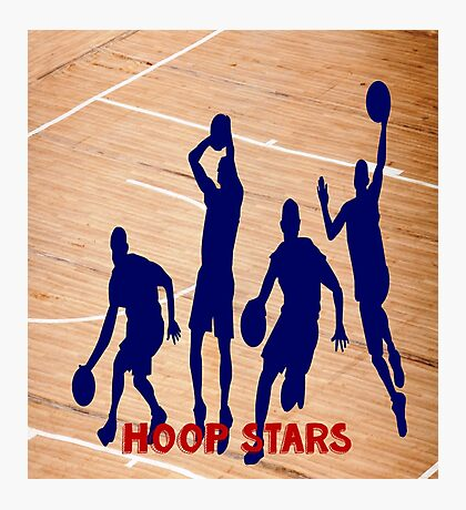 NBA Hoop Stars  Photographic Print