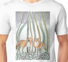 Ink Foxes Unisex T-Shirt