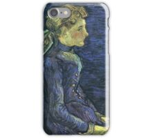Vincent Van Gogh - Portrait Of Adeline Ravoux, 1890 02 iPhone Case/Skin