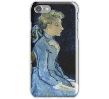 Vincent Van Gogh - Portrait Of Adeline Ravoux, 1890 01 iPhone Case/Skin