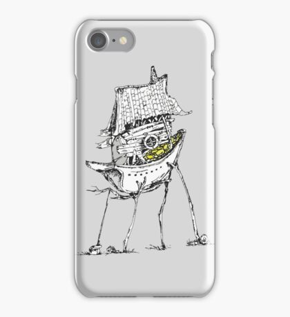 Surreal ship house iPhone Case/Skin