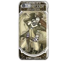 Steampunk JiuJitsu iPhone Case/Skin