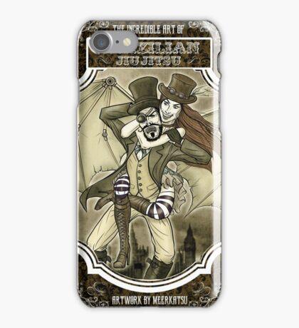 Steampunk JiuJitsu iPhone Case/Skin