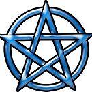 Blue Pentagram by creepyjoe