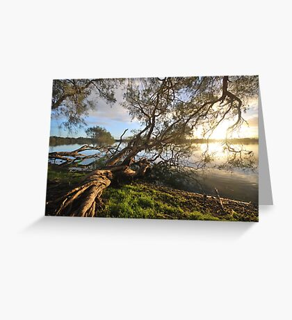 Lake Bambun - Gin Gin - Western Australia Greeting Card