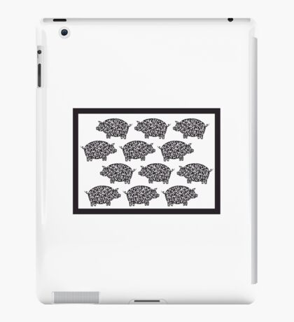 Okinawa Flying Pigs iPad Case/Skin