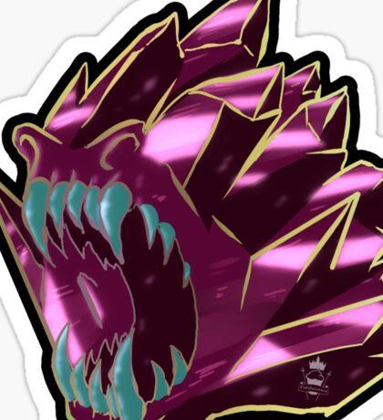Cursed Crystals - Primal rage Sticker