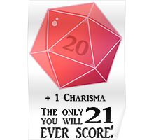 D20 - The Only Score Poster