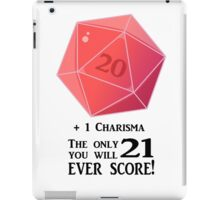 D20 - The Only Score iPad Case/Skin