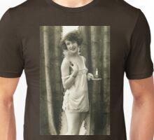 Portrait of a 20s Lady vintage photograph Unisex T-Shirt
