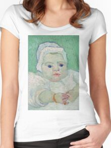 Vincent Van Gogh - Marcelle Roulins Baby, 1888 01 Women's Fitted Scoop T-Shirt