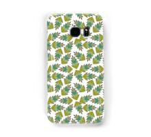 motif feuilles d'automne tons de vert Samsung Galaxy Case/Skin