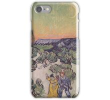 Vincent Van Gogh - Moonlit Landscape 1889 iPhone Case/Skin