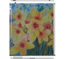 Daffodils herald the spring iPad Case/Skin