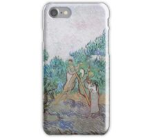 Vincent Van Gogh - Olive Picking, 1889 02 iPhone Case/Skin