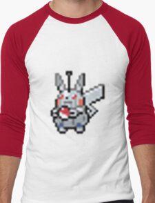 Robot Pikachu Men's Baseball ¾ T-Shirt