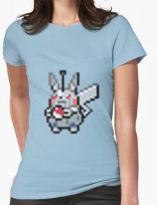 Robot Pikachu Womens Fitted T-Shirt