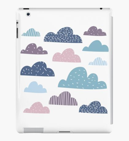 Silly happy clouds iPad Case/Skin