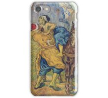 Vincent Van Gogh -  Good Samaritan (After Delacroix), 1890 iPhone Case/Skin