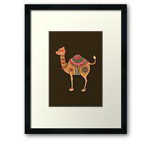 The Ethnic Camel Framed Print