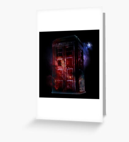 All of Space and Time Greeting Card