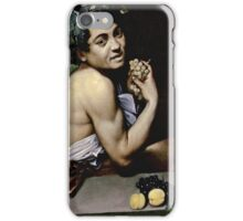 Michelangelo Merisi Da Caravaggio - The Sick Bacchus  iPhone Case/Skin