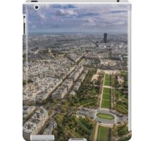 Paris from above 2 iPad Case/Skin