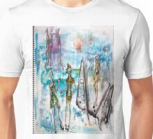 Drawing Pad Unisex T-Shirt