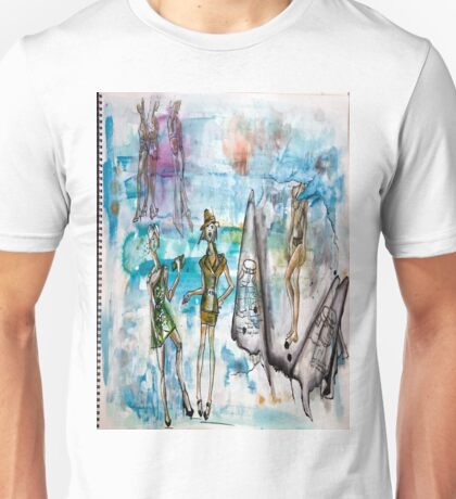 Drawing Pad Unisex T-Shirt