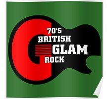 70 british glam rock Poster