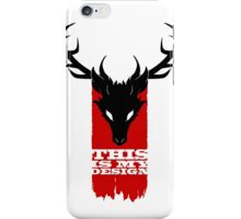 Feathers, Antlers, and Nightmares iPhone Case/Skin
