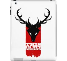 Feathers, Antlers, and Nightmares iPad Case/Skin