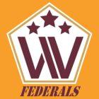 Washington Federals by DskinDCtees