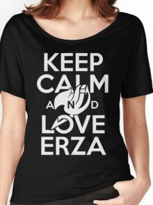Keep Calm and Love Erza Women's Relaxed Fit T-Shirt