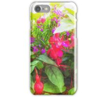 Container Flowers iPhone Case/Skin