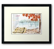 Country Diary - Pay it Forward Framed Print