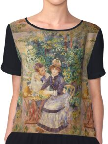 Renoir Auguste - In The Garden Chiffon Top